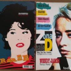 Revistas de música: ZONA DE BAILE (REVISTA DE MÚSICA) (LOTE 4 NÚMEROS: 6, 7, 9, 10). Lote 214410465