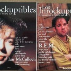 Revistas de música: LOS INROCKUPTIBLES (REVISTA DE MÚSICA) (LOTE 4 PRIMEROS NÚMEROS, EDICIÓN ESPAÑOLA). Lote 214411835