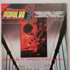 Revistas de música: POPULAR 1 MARZO 1977 NÚMERO 45. Lote 214421463