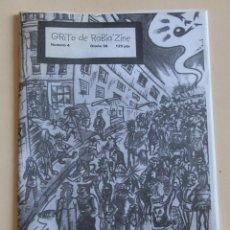 Revistas de música: GRITO DE RABIA ZINE 4 – FANZINE PUNK 1999 – SISTEMA CRIMINAL, DECIBELIOS, BOIKOT, AMENAZA.... Lote 214513670