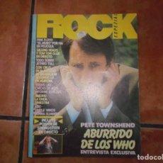 Riviste di musica: ROCK ESPEZIAL Nº 13, POSTER BRUCE SPRINGSTEEN,PINK FLOYD,TALKING HEADS,JETHRO TULL, OBUS,. Lote 214704125