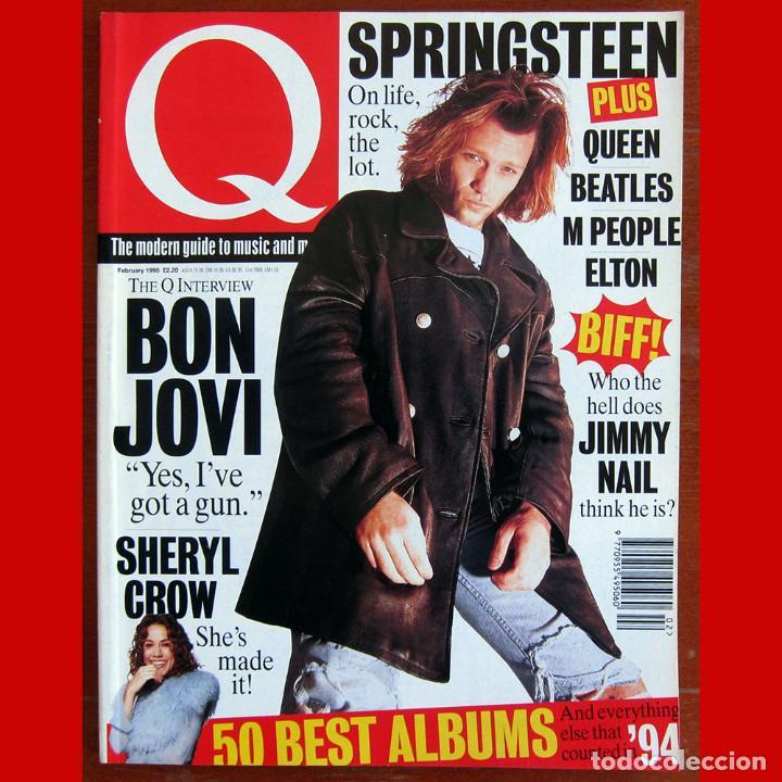 REVISTA Q MAGAZINE - NÚMERO 101, FEBRERO 1995 - SPRINGSTEEN, BON JOVI, BEATLES, - EN INGLÉS (Música - Revistas, Manuales y Cursos)