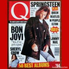 Riviste di musica: REVISTA Q MAGAZINE - NÚMERO 101, FEBRERO 1995 - SPRINGSTEEN, BON JOVI, BEATLES, - EN INGLÉS. Lote 215003031