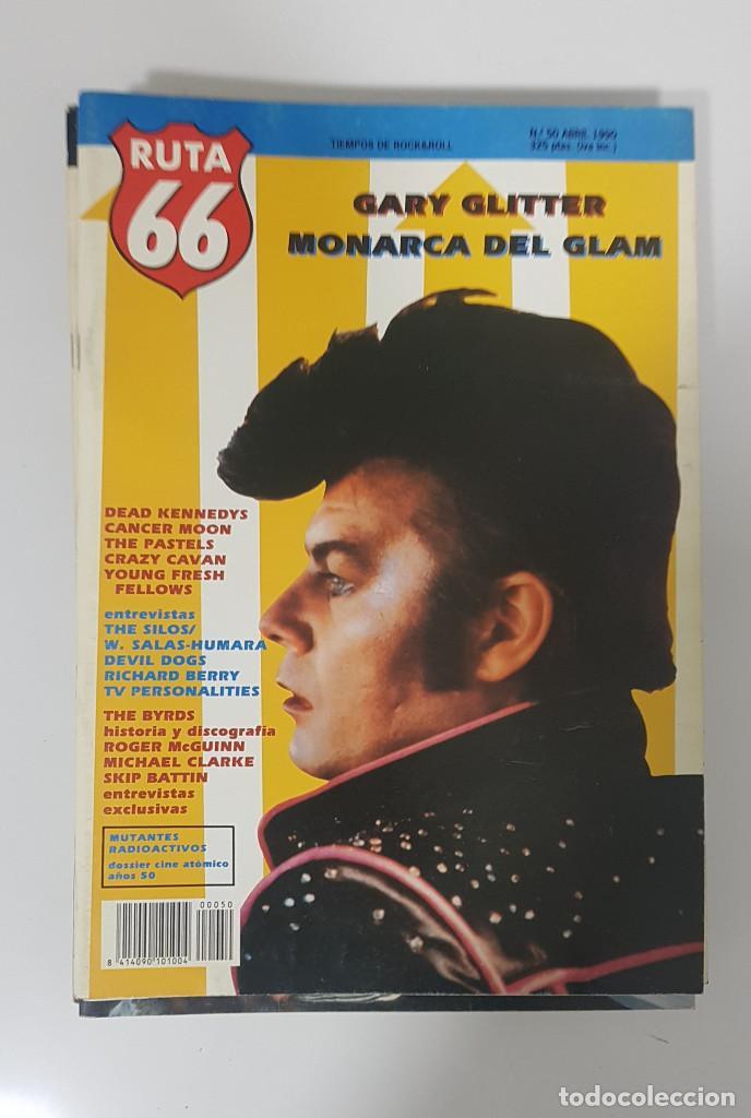 Revistas de música: RUTA 66 LOTE 11 REVISTAS AÑO 1990 COMPLETO. NÚMEROS 47 al 57 - Foto 7 - 215017911