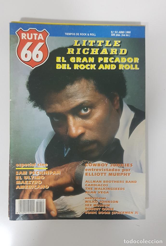 Revistas de música: RUTA 66 LOTE 11 REVISTAS AÑO 1990 COMPLETO. NÚMEROS 47 al 57 - Foto 9 - 215017911
