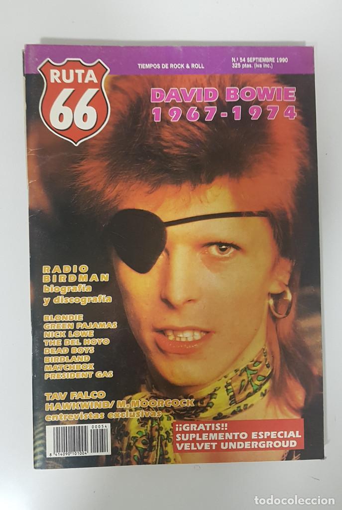 Revistas de música: RUTA 66 LOTE 11 REVISTAS AÑO 1990 COMPLETO. NÚMEROS 47 al 57 - Foto 10 - 215017911