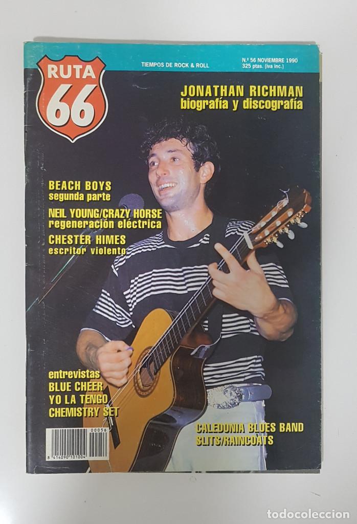 Revistas de música: RUTA 66 LOTE 11 REVISTAS AÑO 1990 COMPLETO. NÚMEROS 47 al 57 - Foto 11 - 215017911