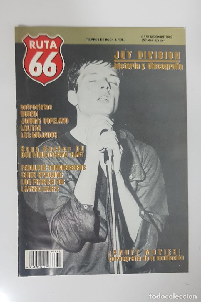 Revistas de música: RUTA 66 LOTE 11 REVISTAS AÑO 1990 COMPLETO. NÚMEROS 47 al 57 - Foto 12 - 215017911