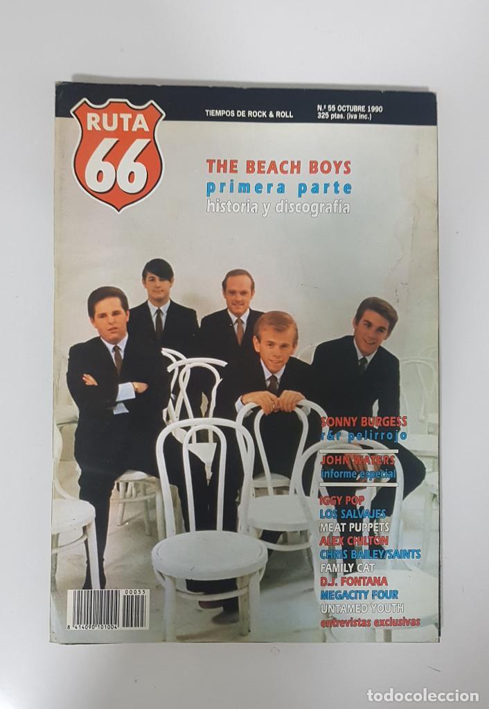 Revistas de música: RUTA 66 LOTE 11 REVISTAS AÑO 1990 COMPLETO. NÚMEROS 47 al 57 - Foto 13 - 215017911
