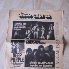 Revistas de música: REVISTA DISCO EXPRES Nº 151, 10 DICIEMBRE 1971.. Lote 215148113