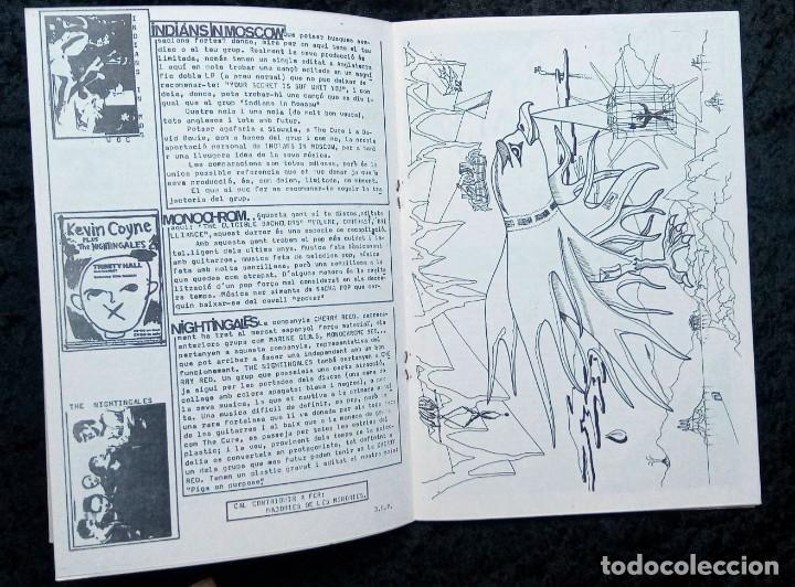 Revistas de música: LUBRIC CRONIC Nº 4 - FLASH - CURE - ECHO - SONS DAFRICA - GOLPES BAJOS - MONTESOL - CHAMALEONS - Foto 4 - 215246318