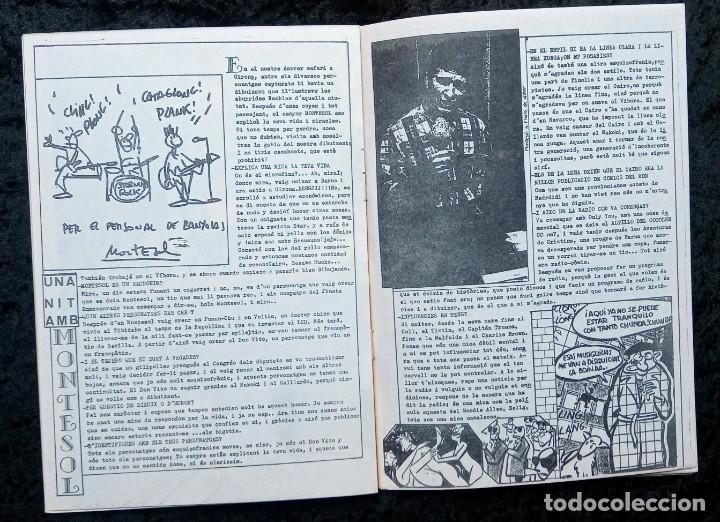 Revistas de música: LUBRIC CRONIC Nº 4 - FLASH - CURE - ECHO - SONS DAFRICA - GOLPES BAJOS - MONTESOL - CHAMALEONS - Foto 5 - 215246318