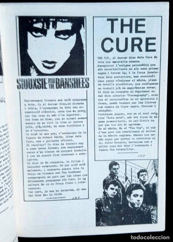 Revistas de música: LUBRIC CRONIC Nº 4 - FLASH - CURE - ECHO - SONS DAFRICA - GOLPES BAJOS - MONTESOL - CHAMALEONS - Foto 6 - 215246318