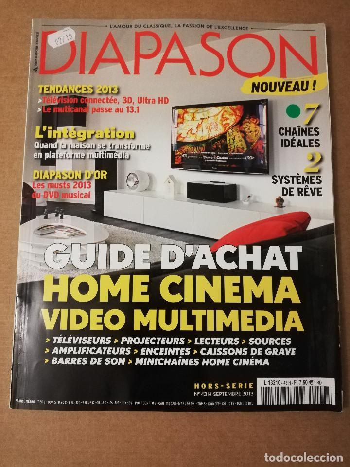 REVISTA DIAPASON Nº 43 (SEPTEMBRE 2013) (Música - Revistas, Manuales y Cursos)