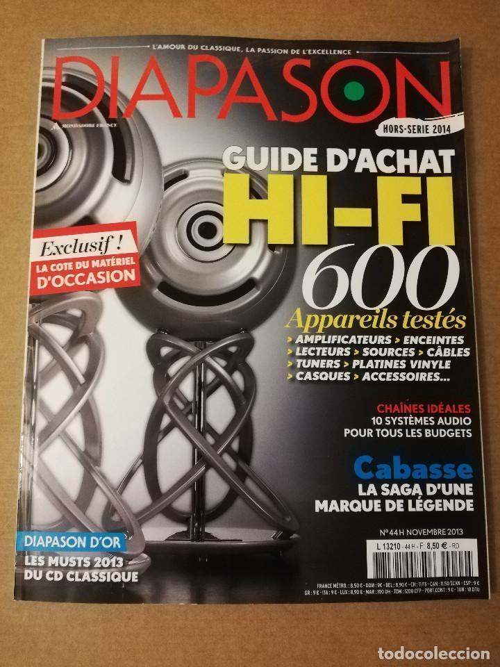 REVISTA DIAPASON Nº 44 (NOVEMBRE 2013) (Música - Revistas, Manuales y Cursos)