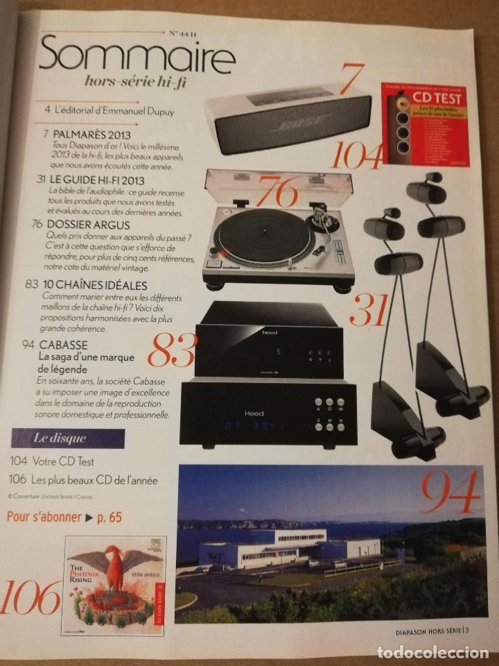 Revistas de música: REVISTA DIAPASON Nº 44 (NOVEMBRE 2013) - Foto 2 - 215261730