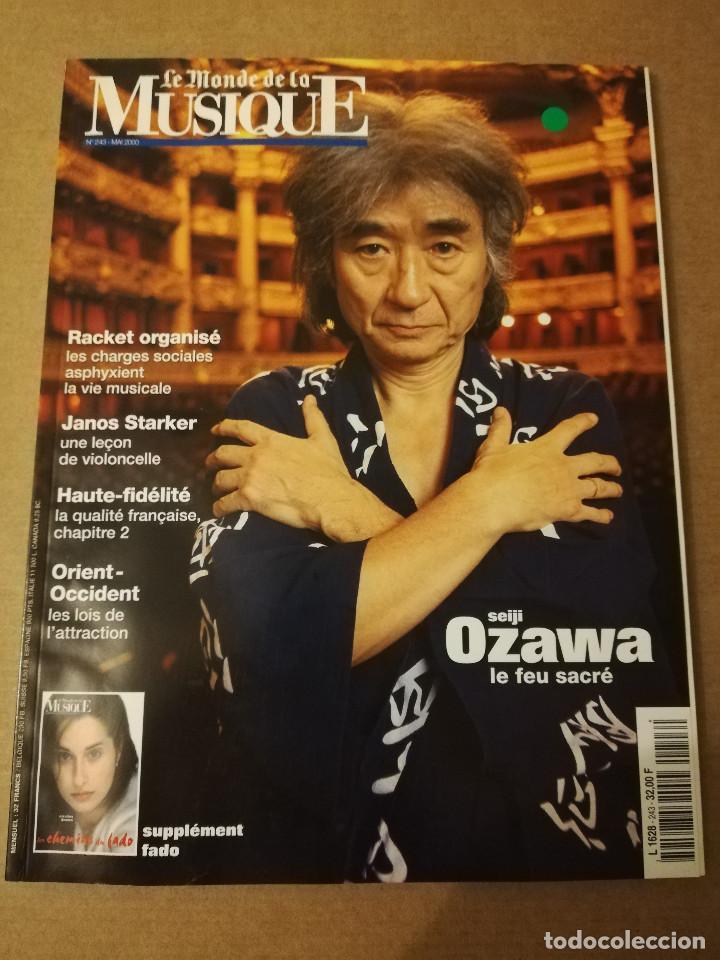 REVISTA LE MONDE DE LA MUSIQUE Nº 243 (MAI 2000) SEIJI OZAWA (Música - Revistas, Manuales y Cursos)