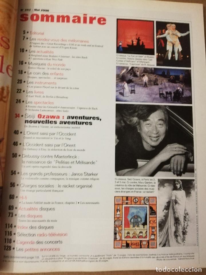 Revistas de música: REVISTA LE MONDE DE LA MUSIQUE Nº 243 (MAI 2000) SEIJI OZAWA - Foto 2 - 215263310