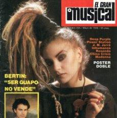 Revistas de música: EL GRAN MUSICAL 255 MAYO 1985 ALASKA Y DINARAMA-MADONNA-DEEP PURPLE-BERTIN OSBORNE-091-HOMBRES G. Lote 215892192