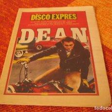Riviste di musica: DISCO EXPRES Nº 490 JAMES DEAN CAMEL ERIC CLAPTON SID VICIOUS 1978. Lote 216012523