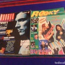 Revistas de música: ROCKY EXPRESS 17 REVISTA CROATA CONCIERTO RAMONES 1994, REGALO BOOGIE CON LOQUILLO Y ALASKA. RARA.. Lote 216595637