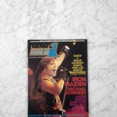 Revistas de música: POPULAR 1 - 1984 - IRON MAIDEN, ÑU, GOLPES BAJOS, MICHAEL SCHENKER, BRIAN MAY, QUEEN, JOHN FOXX. Lote 217006896