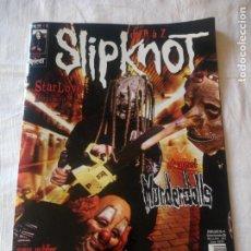 Revistas de música: REVISTA SLIPKNOT ET AUSSI MURDERDOLLS 2004.FRANCES. Lote 217032025