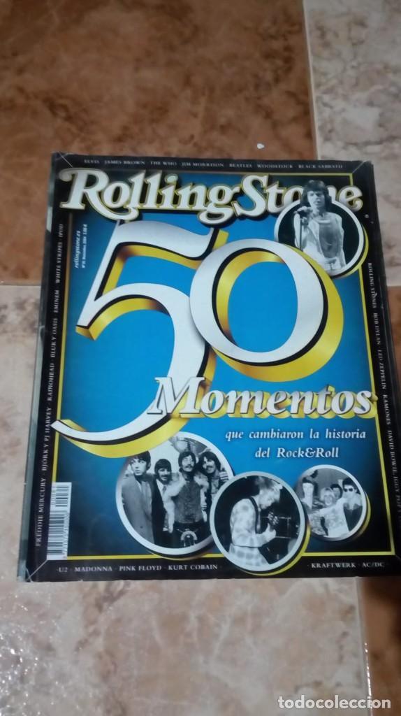 ROLLING STONE 50 MOMENTOS QUE CAMBIARON LA HISTORIA DEL ROCK Nº 61 ESPECIAL (Música - Revistas, Manuales y Cursos)