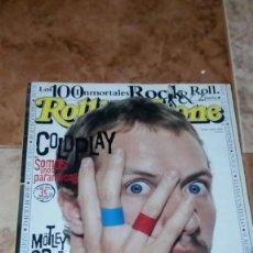 Revistas de música: ROLLING STONE COLDPLAY Nº68. Lote 217041272