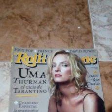 Revistas de música: ROLLING STONE UMA THURMAN Nº 57. Lote 217041673
