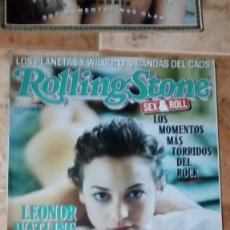 Revistas de música: ROLLING STONE LEONOR WATLING Nº 58. Lote 217041797