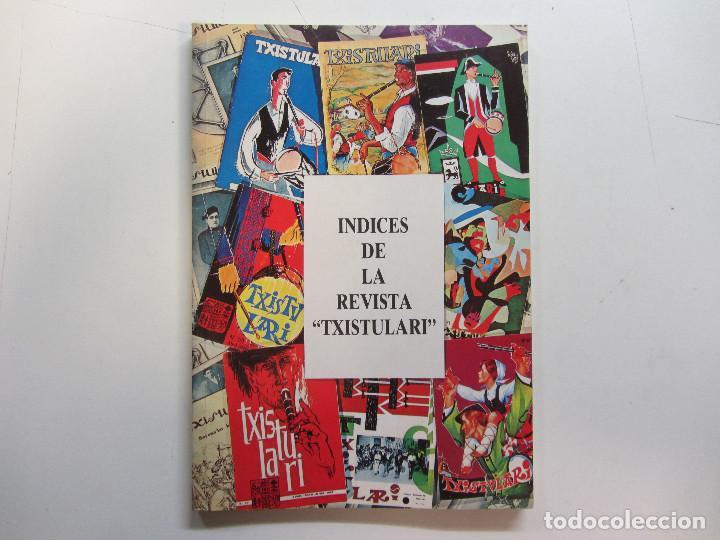 Revistas de música: Lote de 90 revistas Txistulari. Incluye índice. Partituras para Txistu. Años 60-90. 4€ unidad. - Foto 4 - 217089888