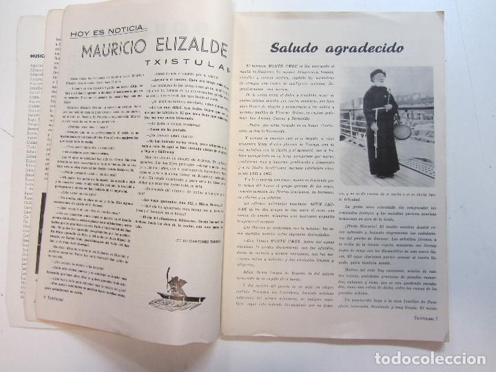 Revistas de música: Lote de 90 revistas Txistulari. Incluye índice. Partituras para Txistu. Años 60-90. 4€ unidad. - Foto 10 - 217089888