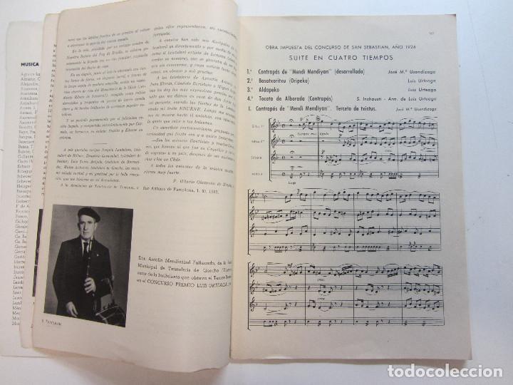 Revistas de música: Lote de 90 revistas Txistulari. Incluye índice. Partituras para Txistu. Años 60-90. 4€ unidad. - Foto 11 - 217089888