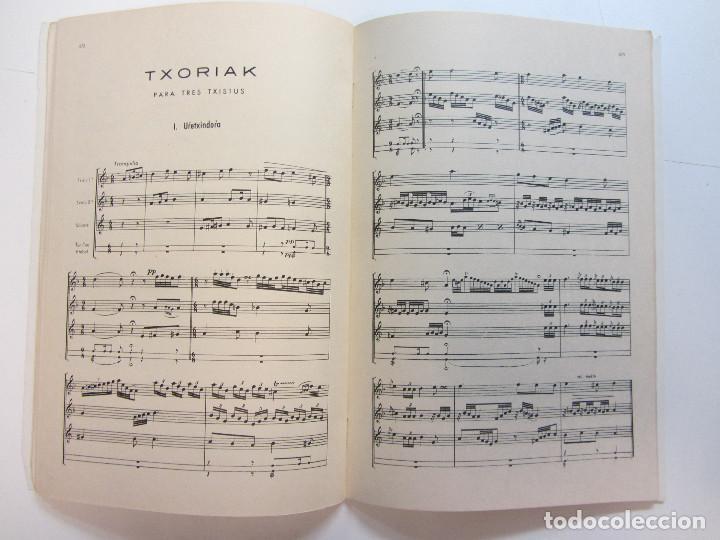 Revistas de música: Lote de 90 revistas Txistulari. Incluye índice. Partituras para Txistu. Años 60-90. 4€ unidad. - Foto 12 - 217089888