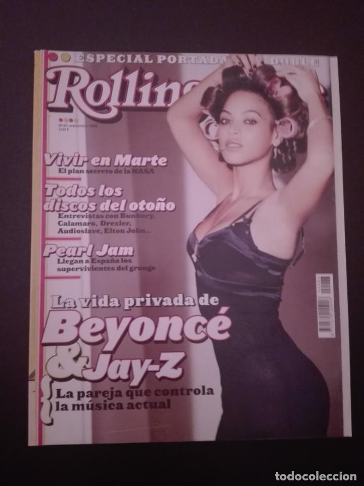 REVISTA ROLLING STONE - BEYONCE - BUNBURY (Música - Revistas, Manuales y Cursos)