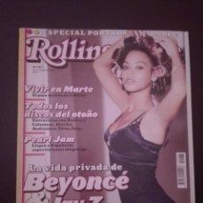 Revistas de música: REVISTA ROLLING STONE - BEYONCE - BUNBURY. Lote 217133537