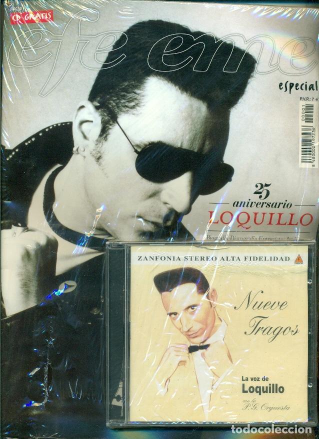 REVISTA EFE EME Nº 1 - ESPECIAL 25 ANIVERSARIO LOQUILLO CON EL CD NUEVE TRAGOS - PRECINTADO-ULTIMO (Música - Revistas, Manuales y Cursos)