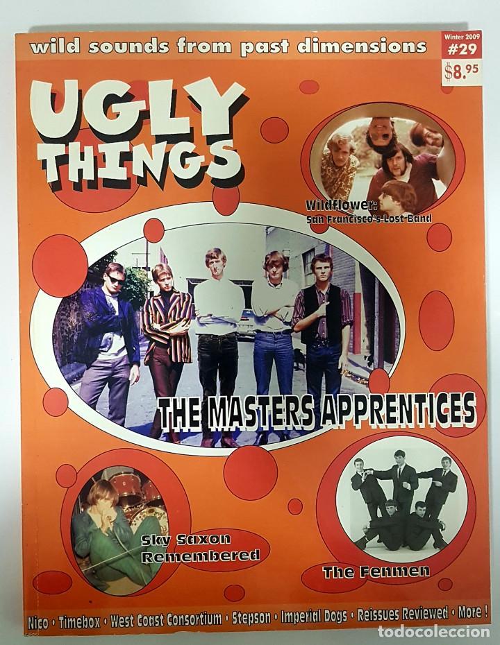 UGLY THINGS #29 MASTER APPRENTICES-WILDFLOWER-FENMEN-SKY SAXON-REMAINS-NICO-REVISTA FANZINE USA 2009 (Música - Revistas, Manuales y Cursos)