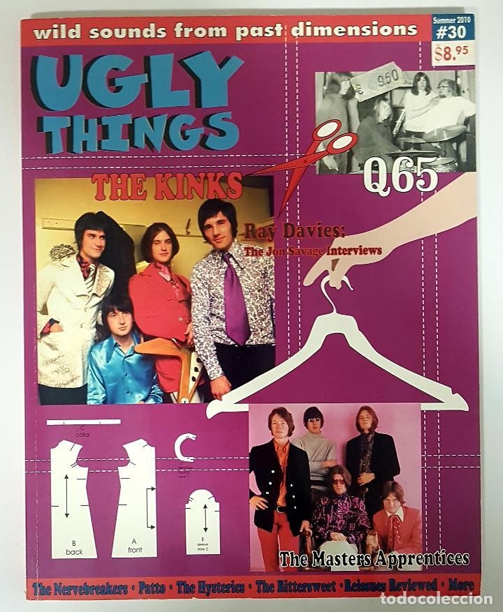 UGLY THINGS #30 THE KINKS-RAY DAVIES-Q65-NEIL YOUNG-NERVEBREAKERS - REVISTA FANZINE USA 2010 (Música - Revistas, Manuales y Cursos)