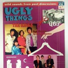 Revistas de música: UGLY THINGS #30 THE KINKS-RAY DAVIES-Q65-NEIL YOUNG-NERVEBREAKERS - REVISTA FANZINE USA 2010. Lote 217351336