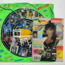 Revistas de música: REVISTA SUPER POP 255 CON REGALOS BOLSA-DISCO Y PÓSTER CENTRAL - MADONNA MICHAEL JACKSON SABRINA. Lote 217820532