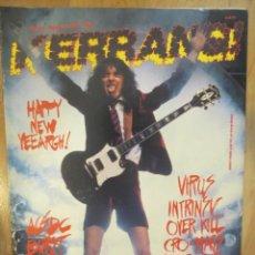 Revistas de música: KERRANG :N.169-AC/DC-VIRUS-CRO.MAGS-JUDAS PRIEST-SLAYER-ETC... Lote 217839778