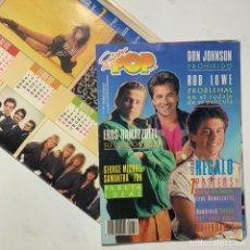 Revistas de música: REVISTA SUPER POP Nº 256 CON REGALO CALENDARIO ESCOLAR Y 7 PÓSTERS SABRINA MICHAEL JACKSON. Lote 217845471