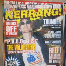 Riviste di musica: KERRANG :N.544-WILDHEARTS-THERAPY-PANTERA-OFFSPRING-EXTREME-MONSTER MAGNET. Lote 217941896