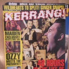 Riviste di musica: KERRANG :N.567- IRON MAIDEN-WILDHEARTS-NAILBOMB-RED HOT CHILI PEPPERS. Lote 217942705