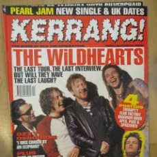 Riviste di musica: KERRANG :N.570- WILDHEARTS-BLIND MELON-FEAR FACTORY-THERAPY-OZZY OSBOURNE. Lote 217943111