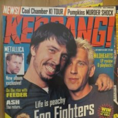 Riviste di musica: KERRANG 670-FOO FIGHTERS-METALLICA-DEFTONES-WILDHEARTS-LEMMY-ETC... Lote 217951765