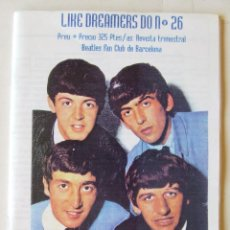 Revistas de música: FANZINE REVISTA LIKE DREAMERS DO Nº 26 COMIC BEATLES FAN CLUB DE BARCELONA. Lote 217969011