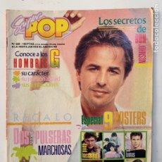 Magazines de musique: REVISTA SUPER POP Nº 220 HOMBRES G TONI CANTO. Lote 218009196